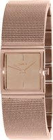 DKNY Women's Mirror NY2114 Rose Stainless-Steel Analog Quartz Watch