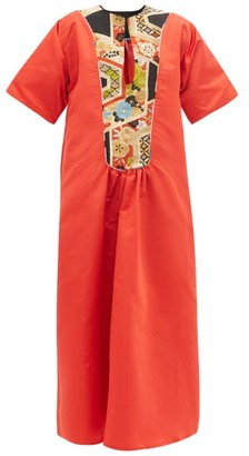 Rianna + Nina - Vintage Silk Maxi Dress - Womens - Multi