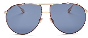 Christian Dior Women's DiorMonsieur1 Brow Bar Aviator Sunglasses, 63mm