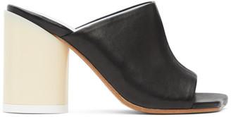 MM6 MAISON MARGIELA Black Open Toe Sandals