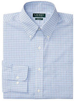 Lauren Ralph Lauren Classic-Fit Checked Poplin Dress Shirt