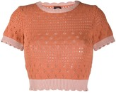 Pinko Knitted Crew Neck Top