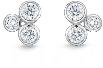 Memoire 18K 1.22 Ct. Tw. Diamond Earrings