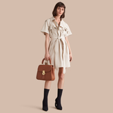 Burberry Tie-waist Cotton Shirt Dress