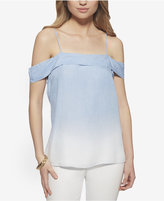 Jessica Simpson Dip-Dyed Off-The-Shoulder Top