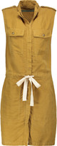 Enza Costa Tencel and linen-blend mini dress