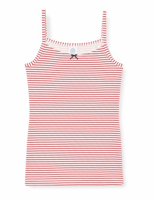 Sanetta Girl's Unterhemd Karmin Underwear