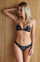 Tori Praver Artemis Floral Fixed Triangle Bikini Top