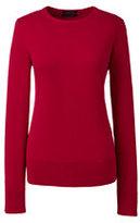 Classic Women's Plus Size Supima Sweater-Bavarian Creme