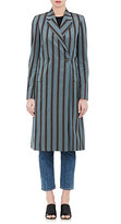 Brock Collection Women's Striped Double-Breasted Coat