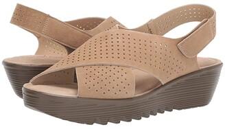 Skechers Petite Parallel - Plot (Dark Natural) Women's Shoes