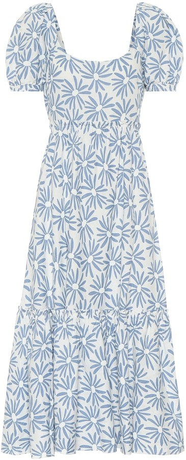 Polo Ralph Lauren Exclusive to Mytheresa Kai floral linen midi dress