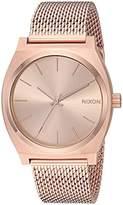 Nixon Women's 'Time Teller Milanese' Quartz Stainless Steel Casual Watch