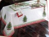 "Spode Christmas Tree Jubilee Tablecloth (60"" x 104"")"