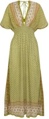 Tory Burch Cotton Backless Maxi Dress