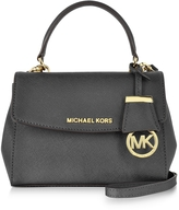 Michael Kors Ava Black Saffiano Leather XS Crossbody Bag