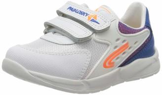Pablosky Kids Girls Low-Top Sneakers White (281104 Blanco) 4.5 UK Child