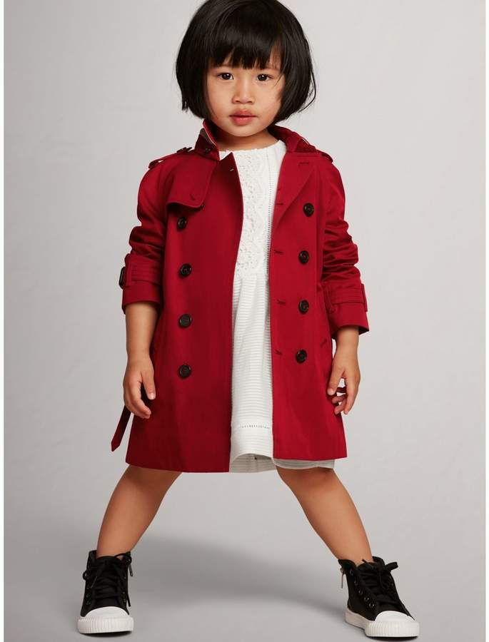 Burberry Childrens The Wiltshire Trench Coat