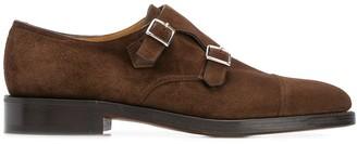 John Lobb buckle fastened loafers
