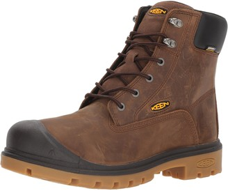 """Keen Men's Baltimore 6"""" Soft Toe Waterproof Work Boot"""