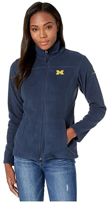 Columbia College Michigan Wolverines CLG Give and Gotm II Full Zip Fleece Jacket