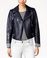 BCBGeneration Faux-Leather Moto Jacket