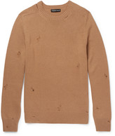Alexander Mcqueen - Distressed Cashmere Sweater