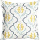 "Sherry Kline Home Felicity Floral Pillow, 20""Sq."