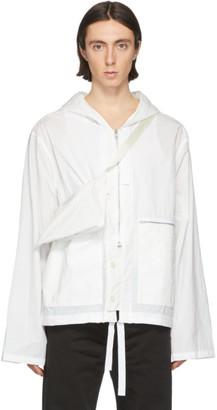 Maison Margiela Off-White Recycled Nylon Sports Jacket