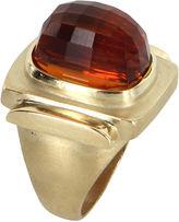 One Kings Lane Vintage Madeira Citrine & Gold Cocktail Ring