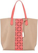 Urban Originals Take The Leap Tote Bag, Camel/Coral
