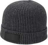 Men's True Religion Brand Jeans Rib Knit Beanie - Grey