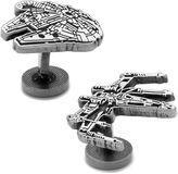 Asstd National Brand Star Wars Millennium Falcon and X-Wing Cufflinks