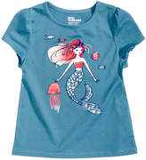 Epic Threads Mermaid and Friends T-Shirt, Little Girls, Created for Macy's