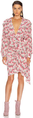 Isabel Marant Rieti Dress in Pink   FWRD