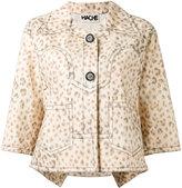 Hache leopard print jacket