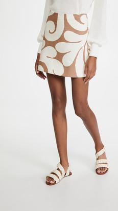 Marni Printed Miniskirt