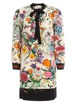 Gucci Flora Snake Dress