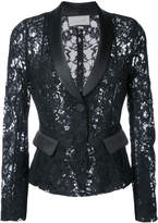 Alexis lace-embroidered blazer