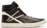 Rick Owens Black Trasher High-top Sneakers