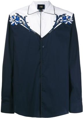 Class Roberto Cavalli Applique Detail Shirt