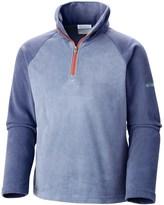 Columbia Glacial Fleece Jacket - Zip Neck, Long Sleeve (For Big Girls)