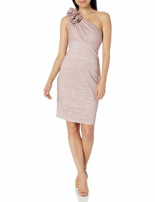 Brinker & Eliza Women's One Shoulder Sheath Dress