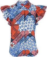 Stella McCartney bandanna batik shortsleeved blouse