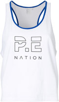P.E Nation Iceman cropped tank