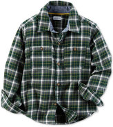 Carter's Little Boys' Plaid Shirt
