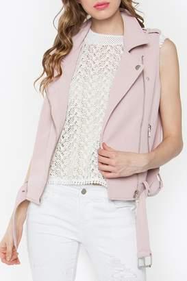 Sugar Lips Biker Blush Vest