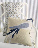 Bird & Tile Needlepoint Pillow