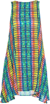 Mara Hoffman Flight Rainbow-print crepon sleeveless dress