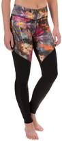 Steve Madden Printed Leggings - Mesh Panels (For Women)